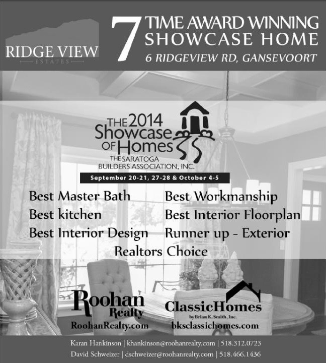 Award Winning Showcase Home