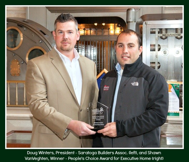 VanVeghten Construction winner of best executive homes saratoga 2014