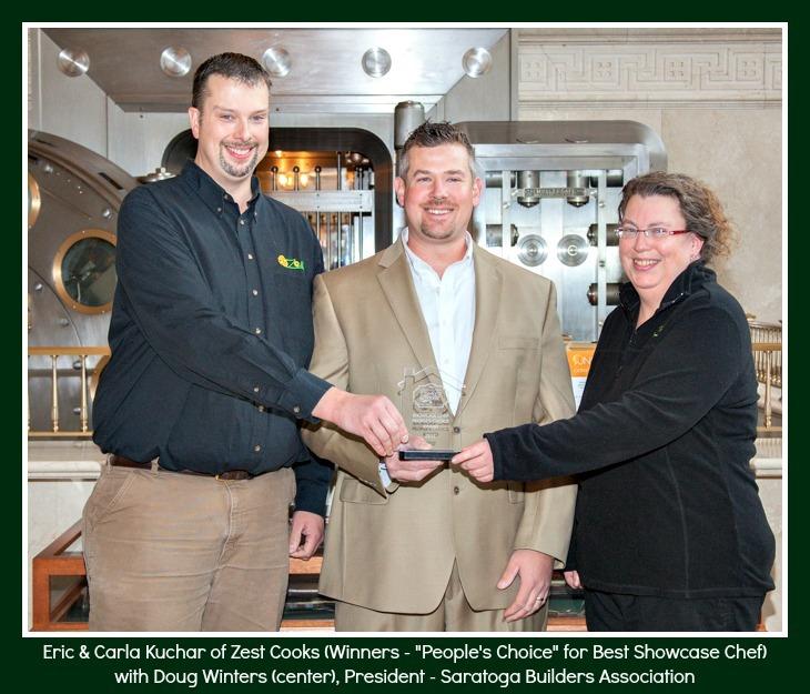 Zest Cooks Saratoga award winning chefs