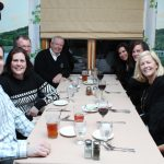(L to R) some of Gerard Wise and Robin Dalton of Roohan's Commercial Department, Jack Minehan, Tom Roohan, Julie Bonacio, Kristie Roohan, Amy Sutton