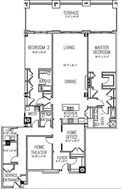Park place condos going fast roohan realty for Park place floor plans