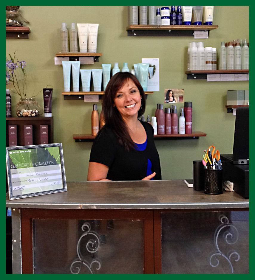 Lisa Dorvee, owner of the new Circle of Friends Beauty Centre in Saratoga Springs, NY