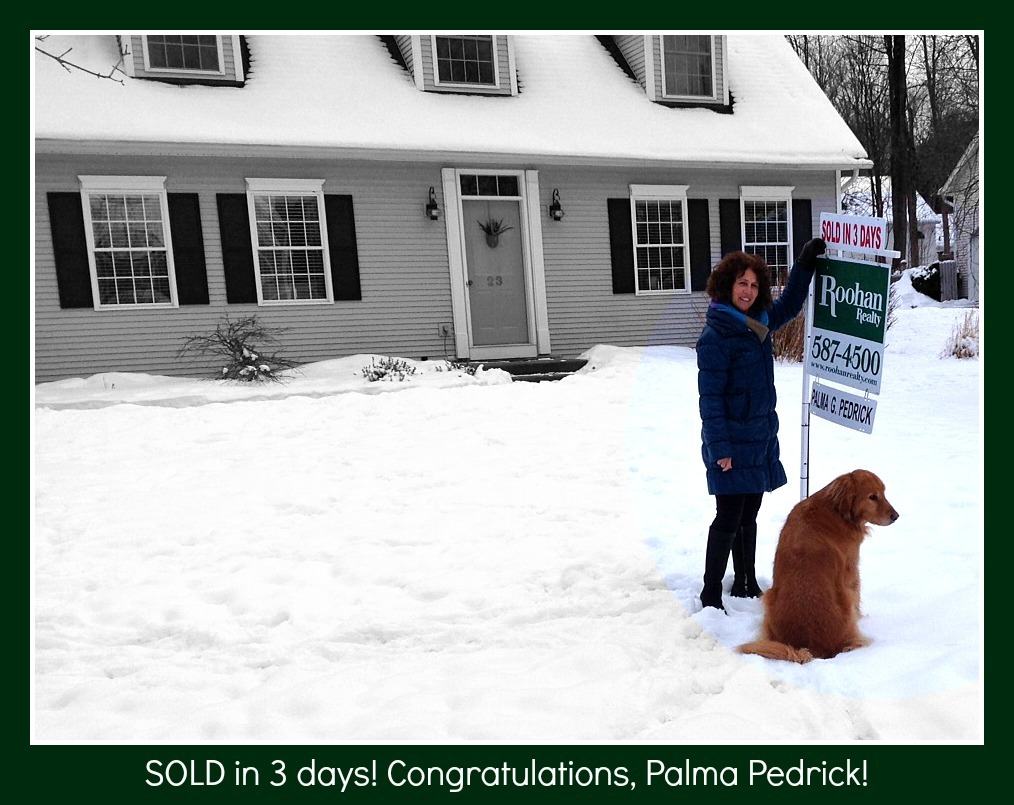 Blog post: Sold In Three Days