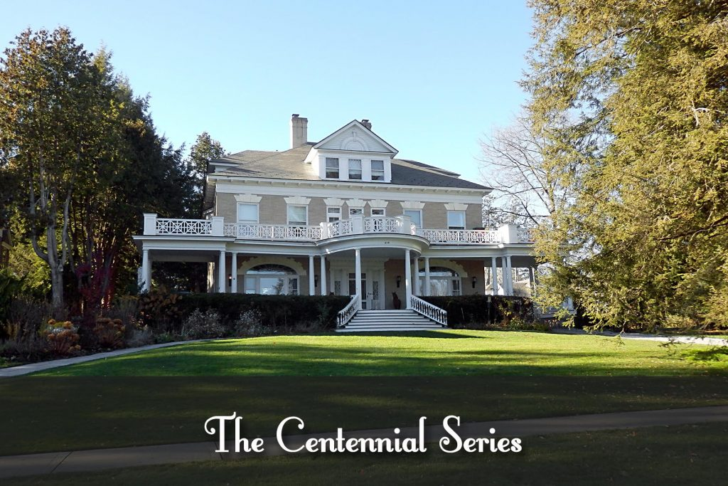 Saratoga Centennial - History of 659 (pictured here) and 655 North Broadway