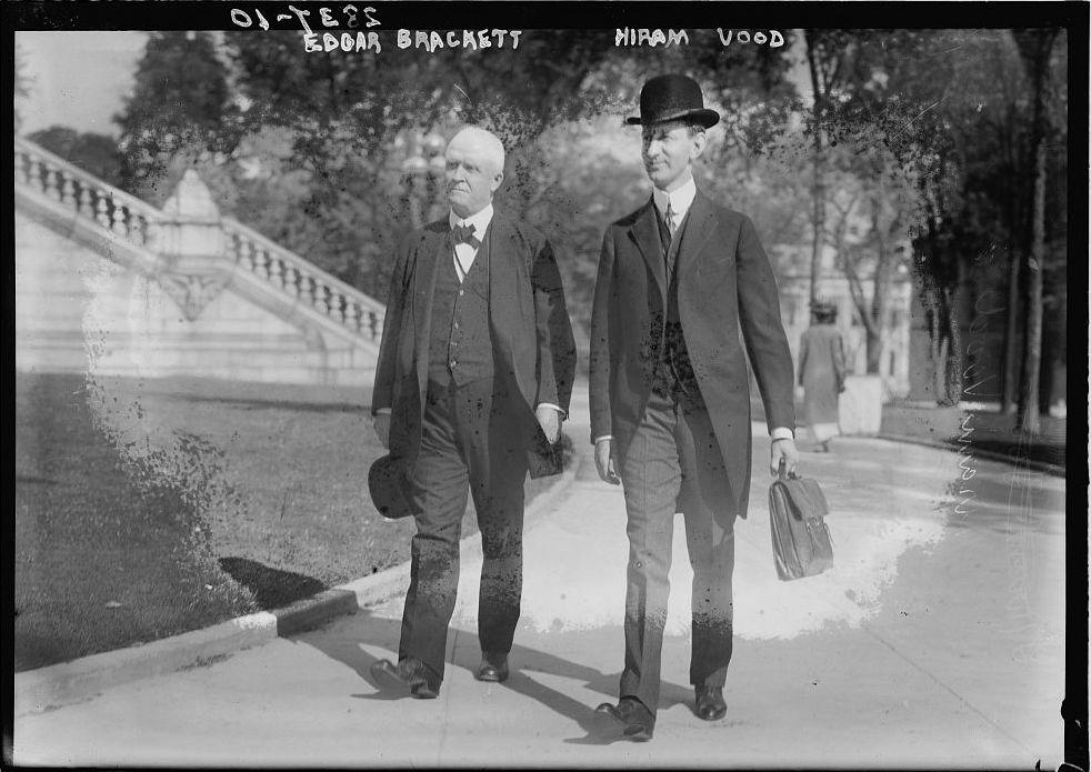 Edgar_Truman_Brackett_and_Hiram_R._Wood_circa_1913
