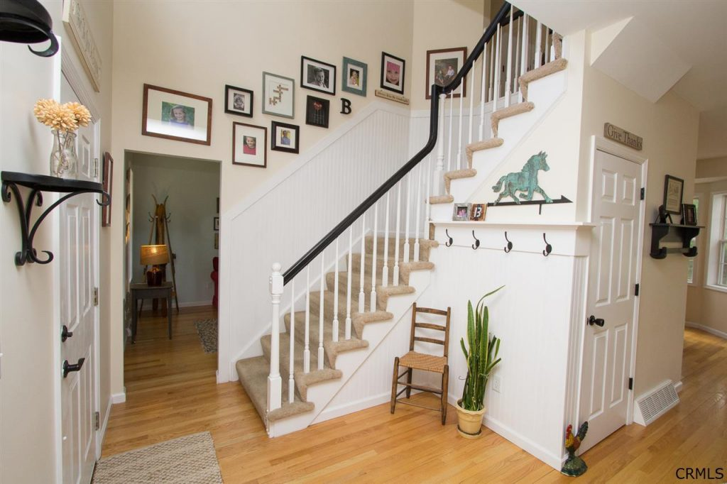 Colonial House Foyer : House of the week margaret drive roohan realty