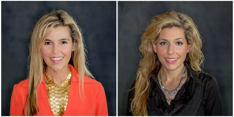 Brittany Alexander (left) and Megan Alexander (right) have joined Roohan Realty's residential sales team