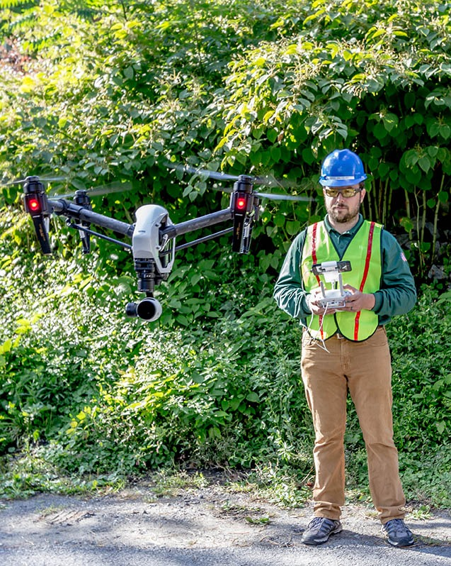 commercial drones and real estate