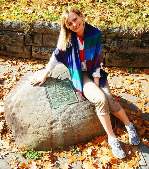 Olivia Huffman commercial realtor at hayes spring spa state park ny