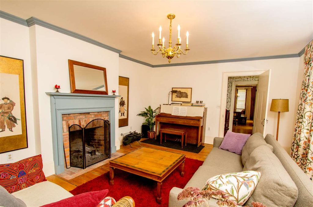 287 Jones Road, hartwick, ny is a home for sale featuring a wood-burning fireplace