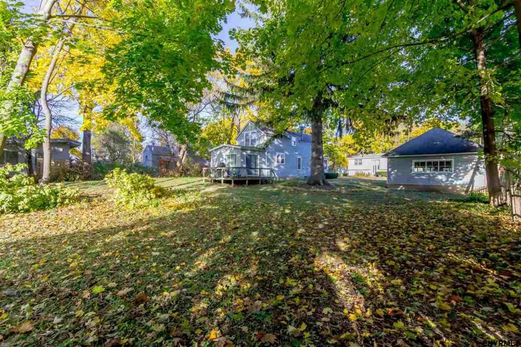 11 Besnonhurst Ave is on a 100 x 120 level lot in a prime location convenient to Broadway, parks and schools in award-winning Saratoga Springs, NY