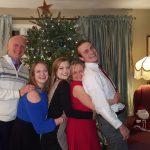 David Towne (of Wilton, NY) and family