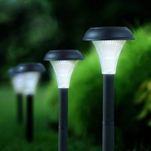 smart home tech Solar-Powered Path Lights