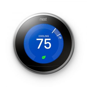smart home tech nest learning thermostat