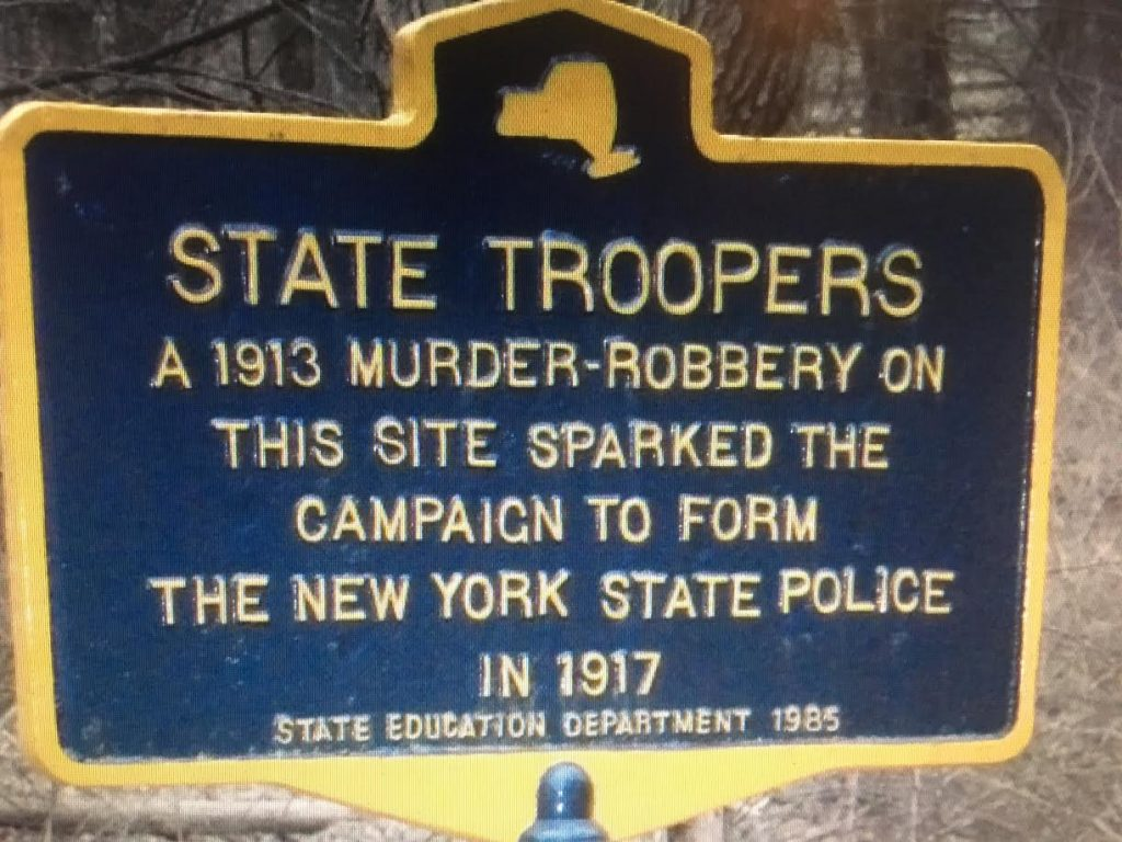 new york state police 100th anniversary