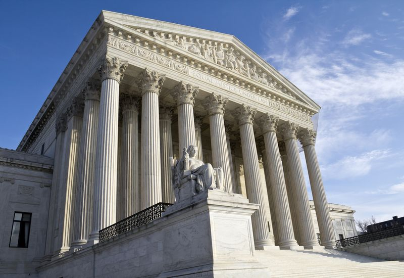 The Supreme Court Building in Washington DC is a famous example of the Greek Revival style in the United States.