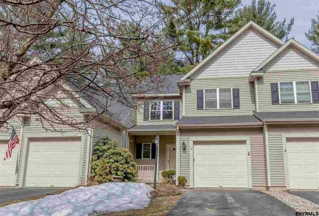 3 shannon way in saratoga springs is a maintenance free townhouse for sale for $289,000
