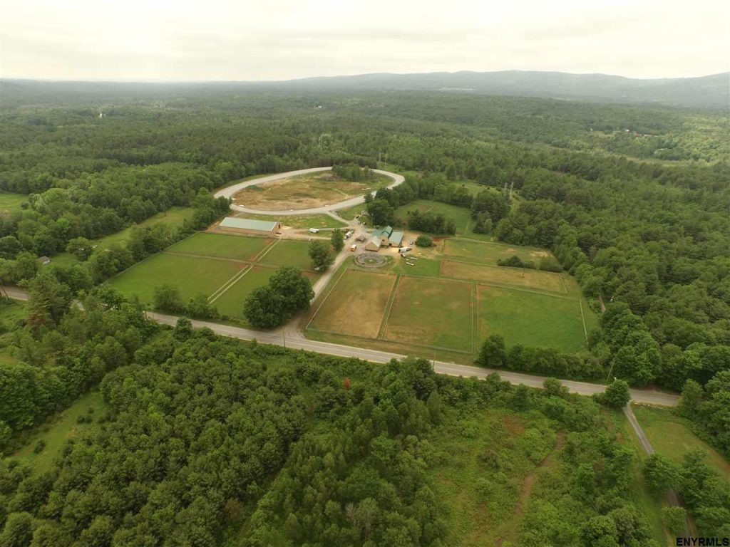 100 Howe Road in Greenfield, NY 12833 is a freshly updated horse farm for sale in Saratoga County