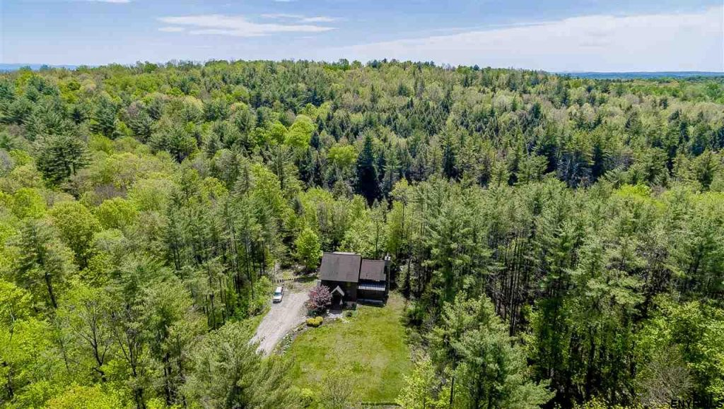 3056 Shaw Road in Galway, New York is a 3 bedroom post and beam home for sale