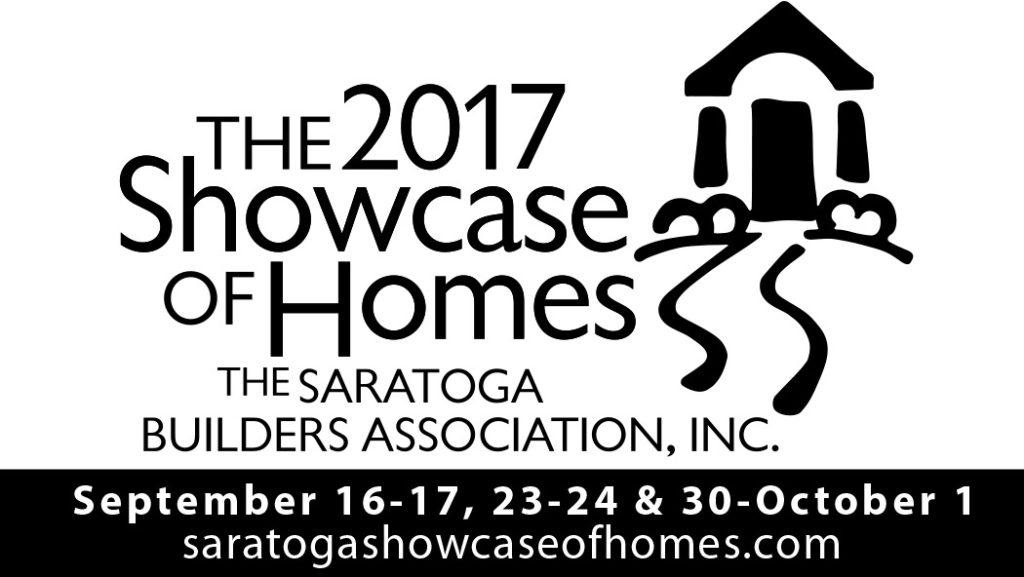 2017 saratoga showcase of homes logo with dates