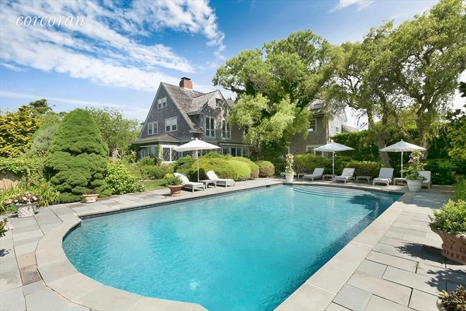 grey gardens in east hampton is listed for sale by the corcoran group