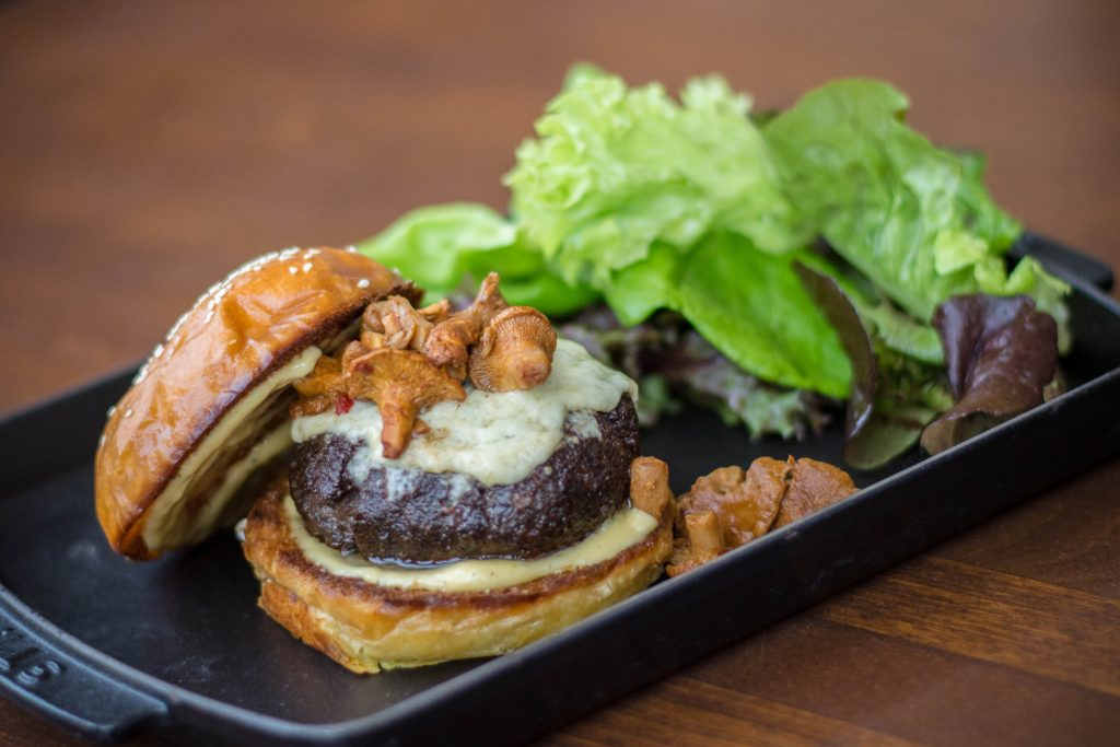 Salt & Char's Blended Wagyu Burger