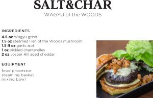 ststainable burger recipe from salt & char saratoga