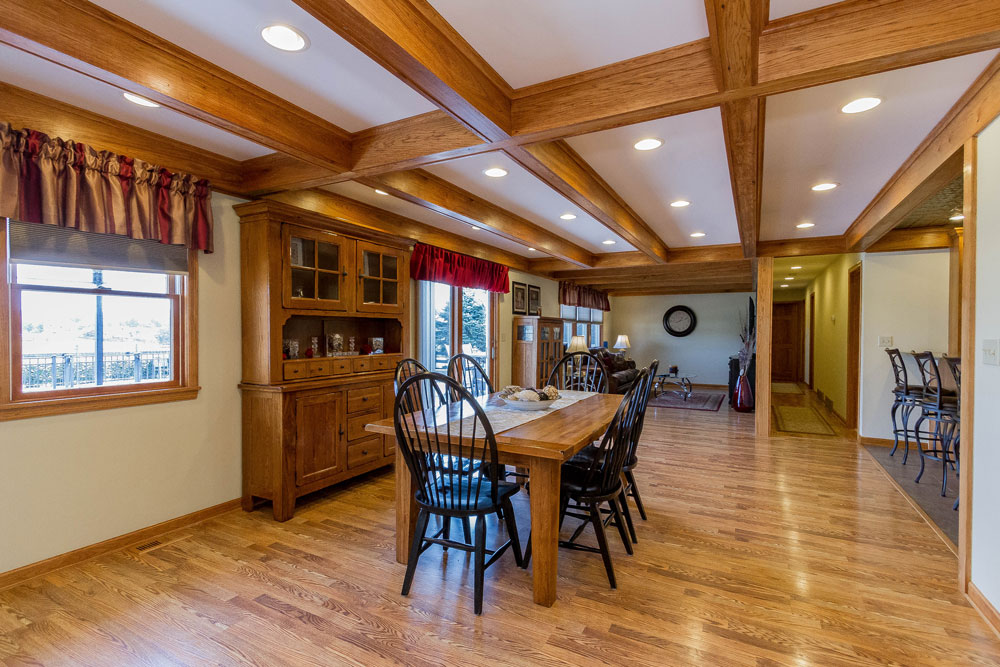 646 Stonebridge Road in northumberland ny is a home for sale with beautiful natural wood beams and hardwood floors