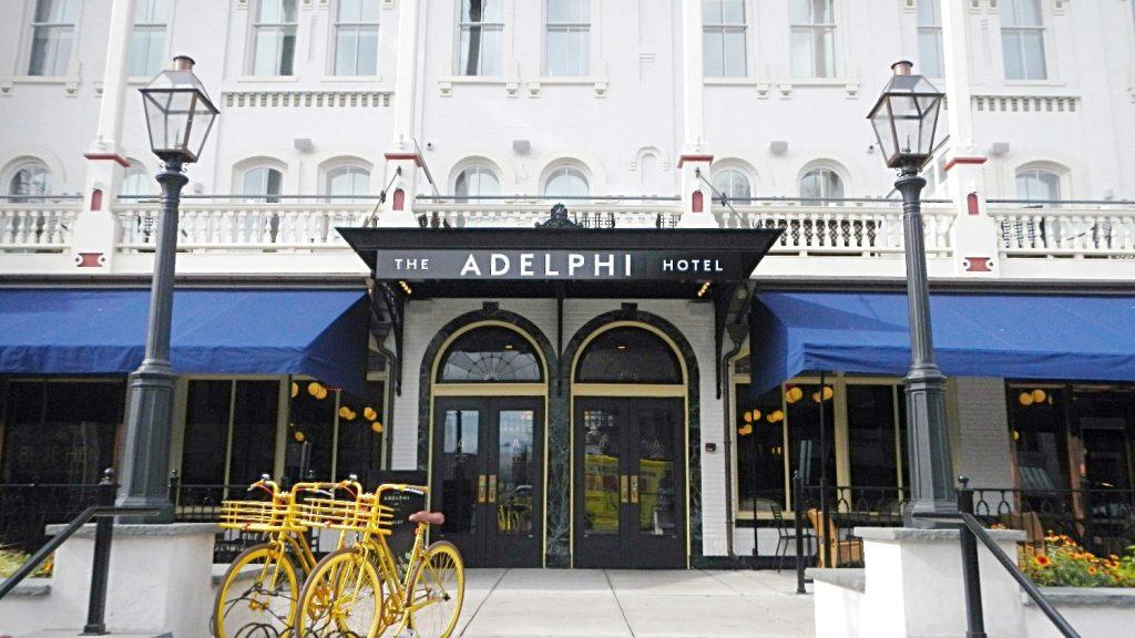 grand entry adelphi hotel saratoga springs ny