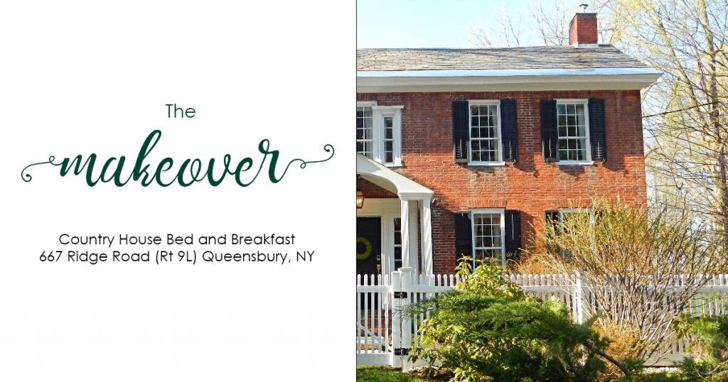 the makeover of country house bed and breakfast in queensbury ny