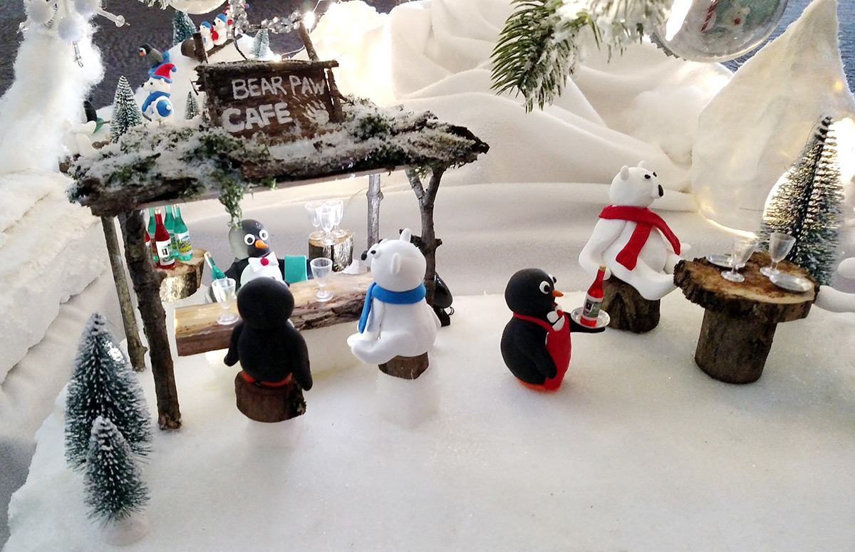 festival of trees 2017 penguins and polar bears roohan realty