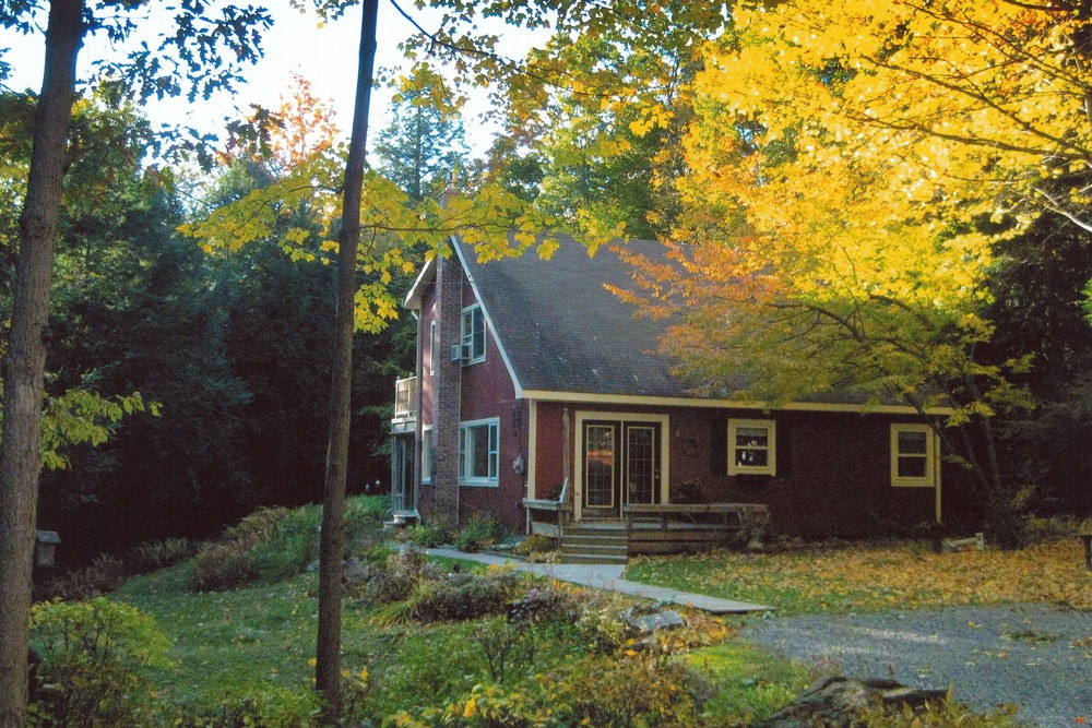 358 Wilton Road, Greenfield, NY is a home for sale with Beautiful foliage and perennial gardens