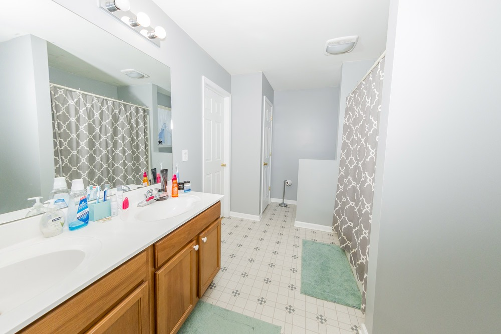 466 Colebrook Road in Northumberland, NY 12831 is a single family home for sale with a large master bath including double vanity