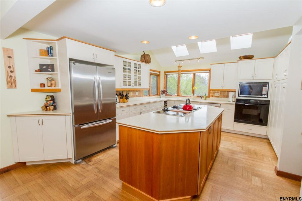 5742 Jockey Street is a home for sale in Galway, NY with a gourmet kitchen and lots of natural light