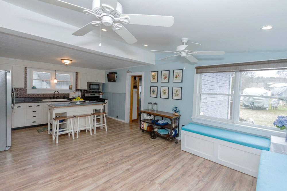 6 Nichol Street is a home for sale in Salem, NY with an open kitchen and sun room with loads of natural light.