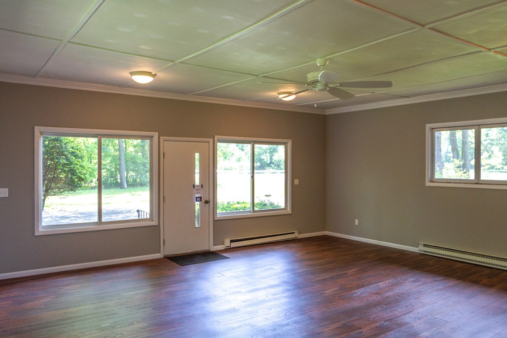 105 Hyde Boulevard is a home for sale in Ballston Spa, NY with a converted 2-car garage provides additional living space