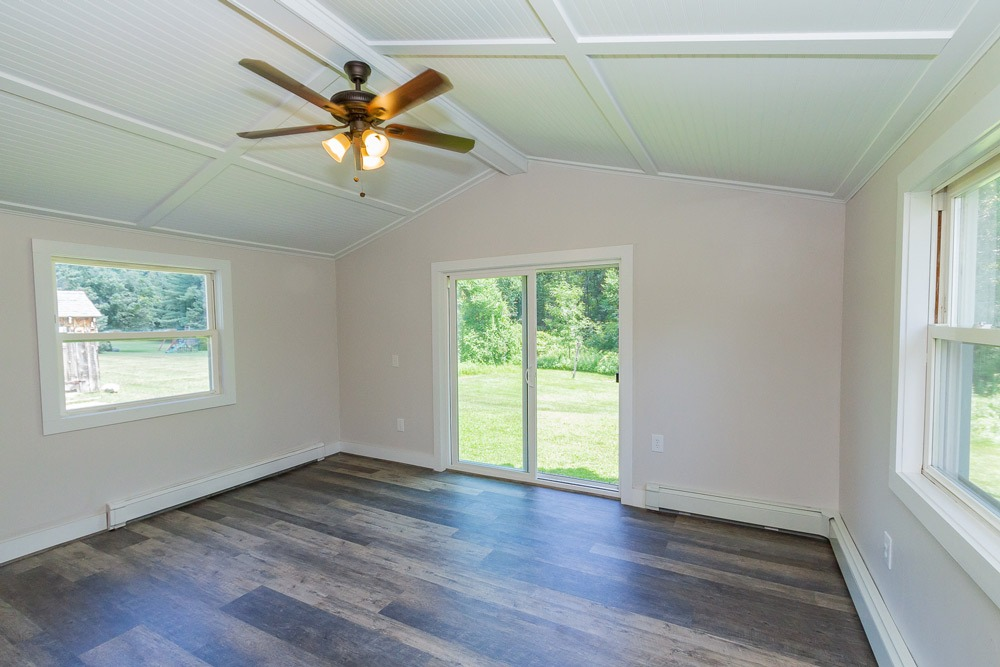 153 Meehan Road, Stillwater, NY is a home for sale with sun room, hardwood floors and new fixtures