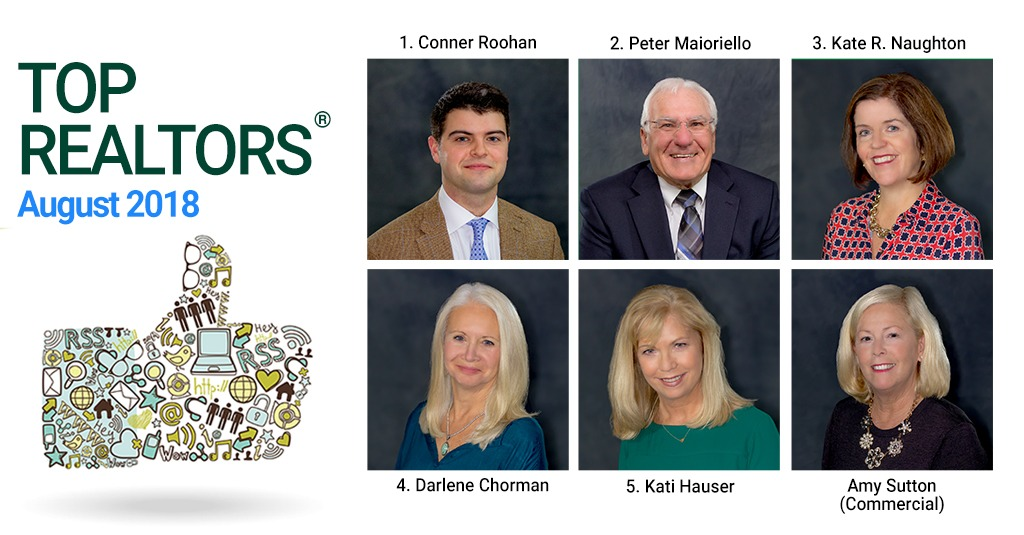 top real estate agents august 2018 saratoga ny