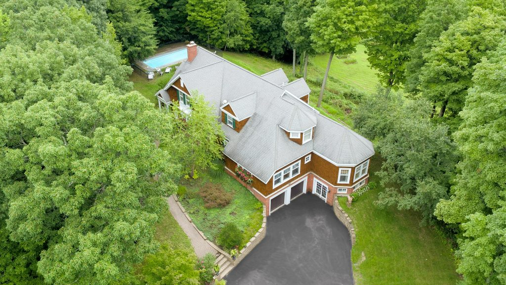 139 Burke Road in Saratoga is an award winning home designed by world renowned architect, Robert A.M. Stern