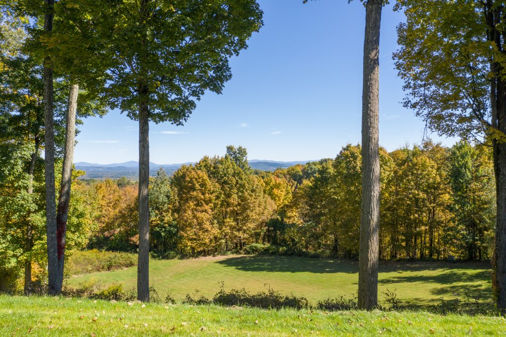 139 Burke Road, Saratoga, NY is a Robert A.M. Stern designed home for sale with panoramic mountain views