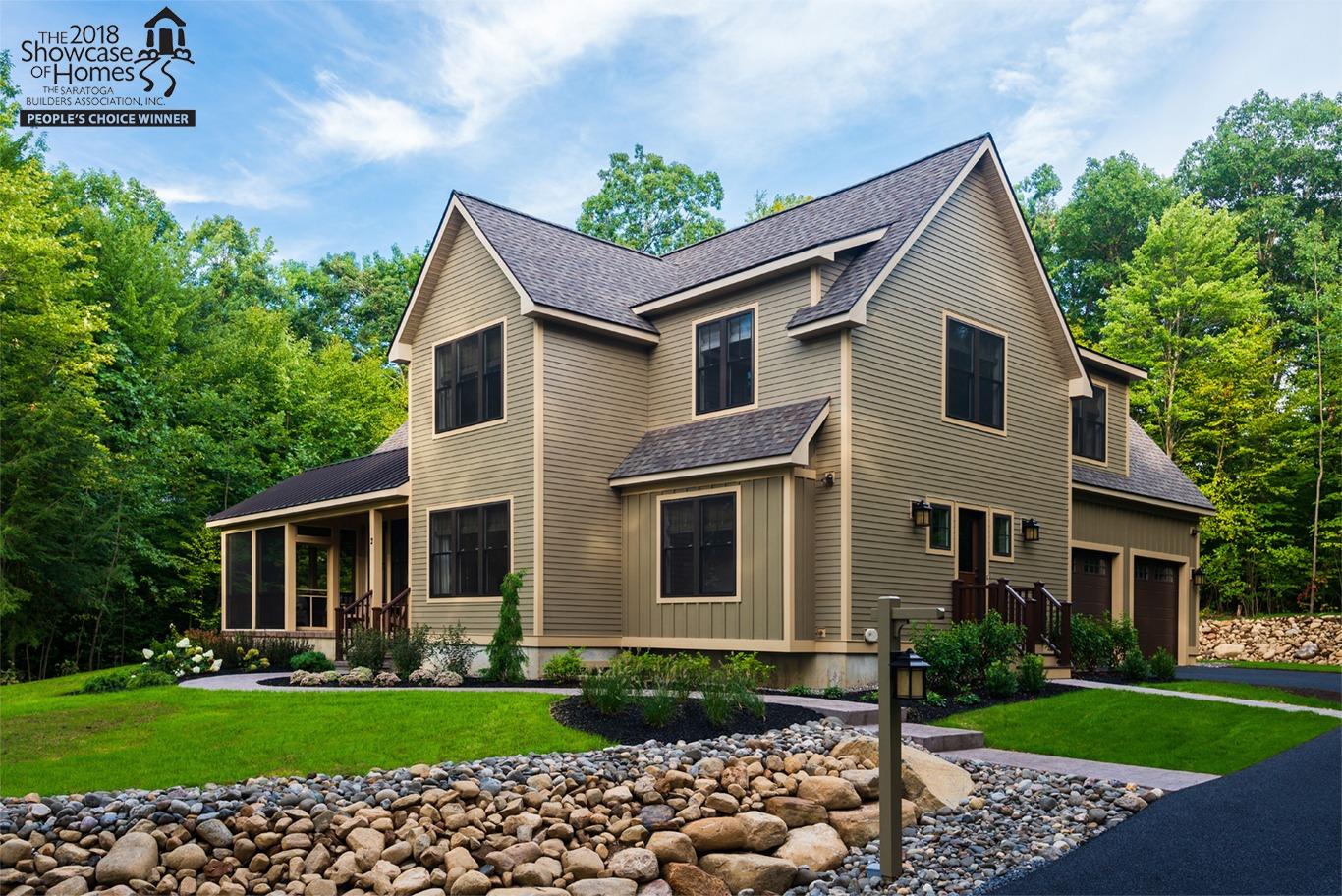 Kodiak Construction's award-winning entry in the 2018 Saratoga Showcase of Homes