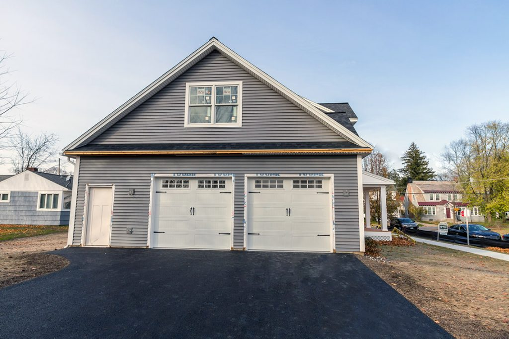 7 Madison Street, Saratoga Springs, NY is a new construction home for sale with an attached two car garage