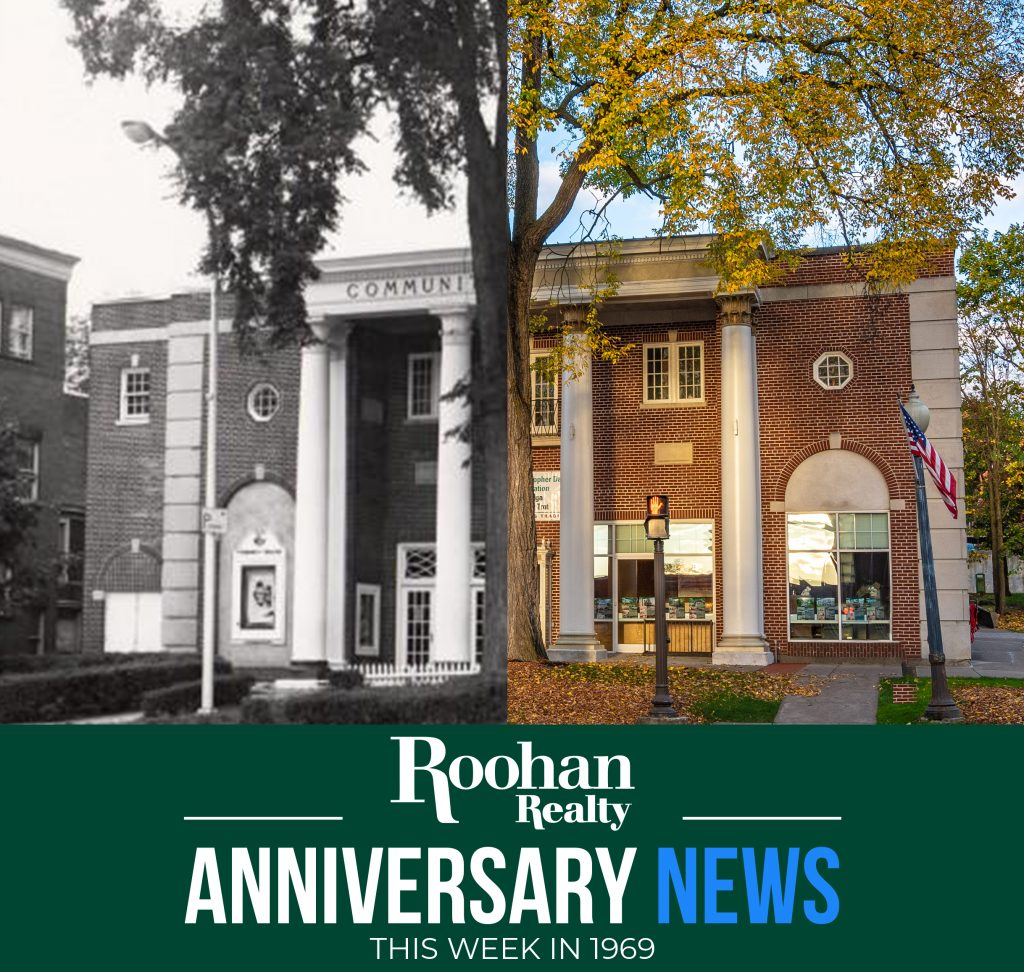 519 Broadway, Saratoga Springs, NY: Currently home to Roohan Realty and other local businesses, this historic building served as the city's movie theater for forty years from 1938 to 1978.