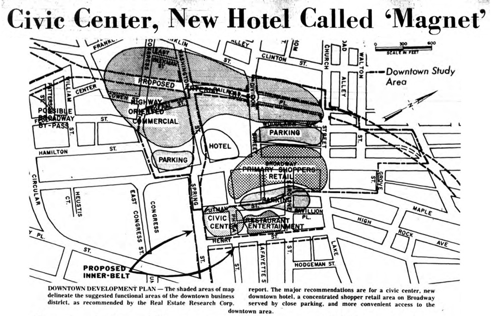 proposed shopping center saratoga springs ny 1969