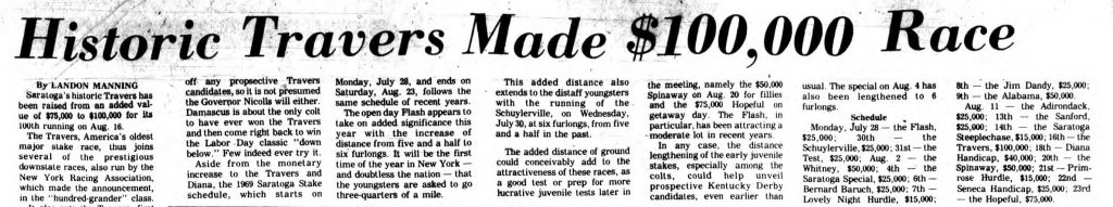 Source: The Saratogian, Jan. 27, 1969 accessed at www.fultonhistory.com