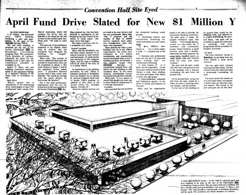 Story from a March 1969 article in The Saratogian. Source: Fultonhistory.com