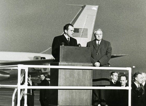 nixon takes 5 nation trip 1969