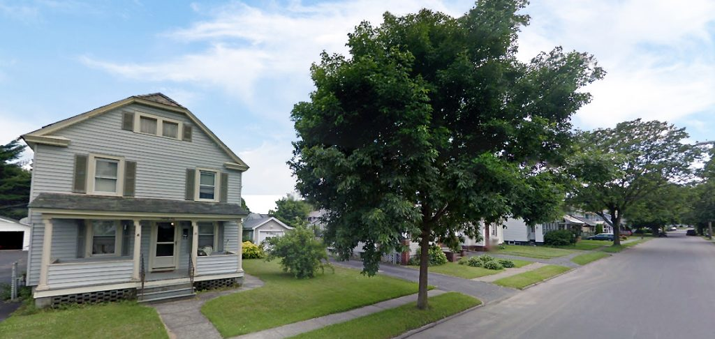 26 Coleman Avenue in Hudson Falls NY is Located on a lovely suburban street with sidewalks and mature trees
