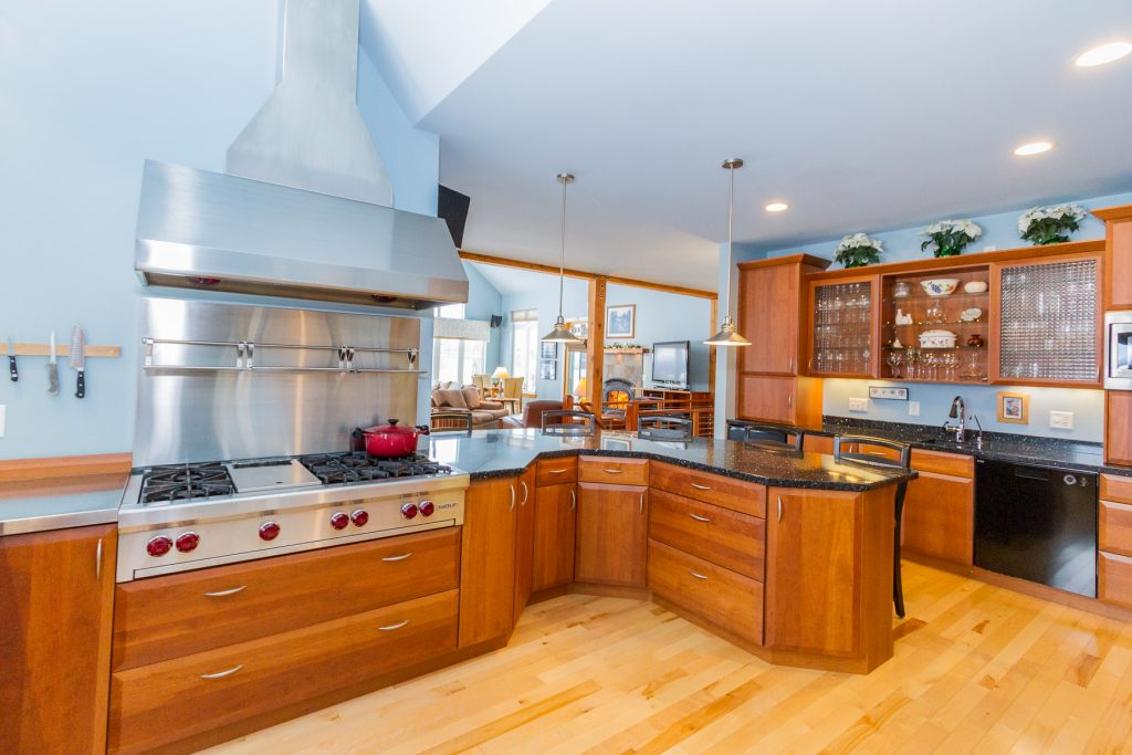 240 Casey Road Schaghticoke NY 12154 has a cook's dream kitchen with and abundance of floor and counter space.