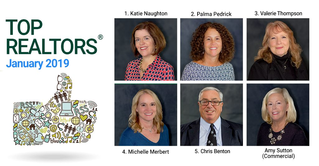 Top Realtors 174 For January 2019 Roohan Realty